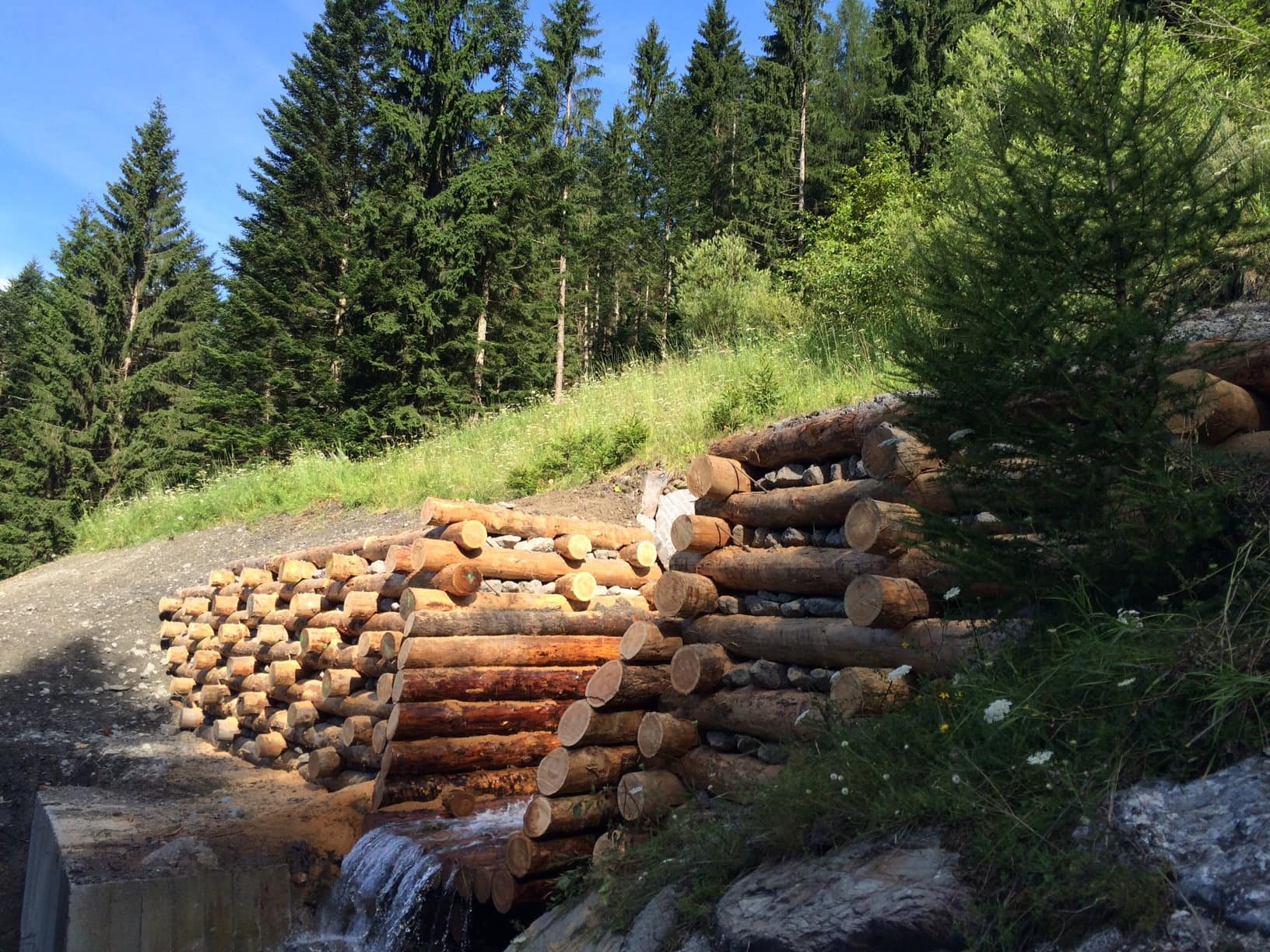 Arcia in legno Paluzza